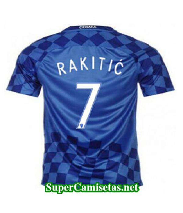 Segunda Equipacion Camiseta Croacia RAKITIC Eurocopa 2016