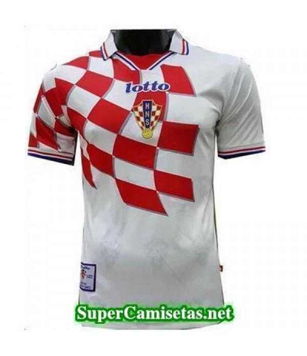 Tailandia Primera Equipacion Camiseta Croacia clasicas 1998