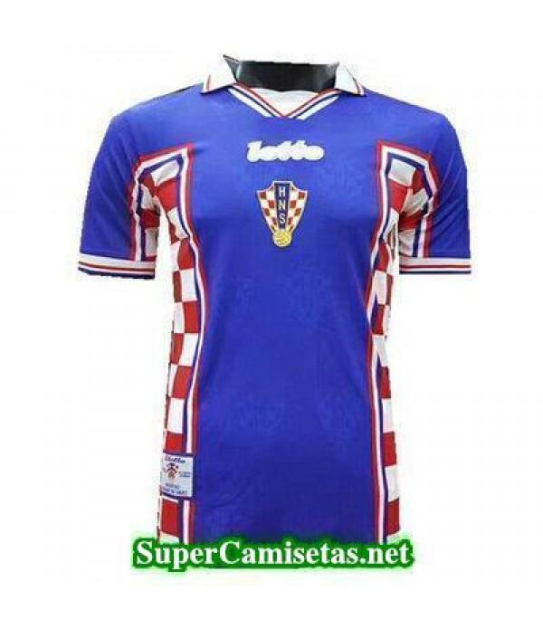 Tailandia Segunda Equipacion Camiseta Croacia clasicas 1998
