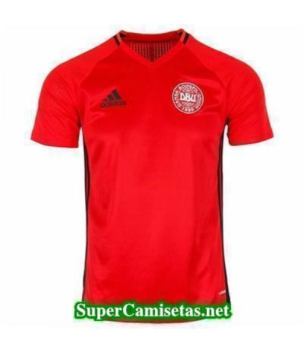 camiseta entrenamiento Dinamarca Rojo 2016 2017