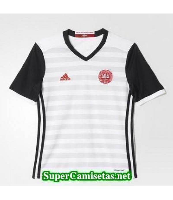 Segunda Equipacion Camiseta Dinamarca Eurocopa 2016