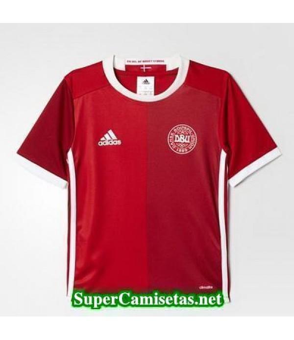 Tailandia Primera Equipacion Camiseta Dinamarca Eurocopa 2016