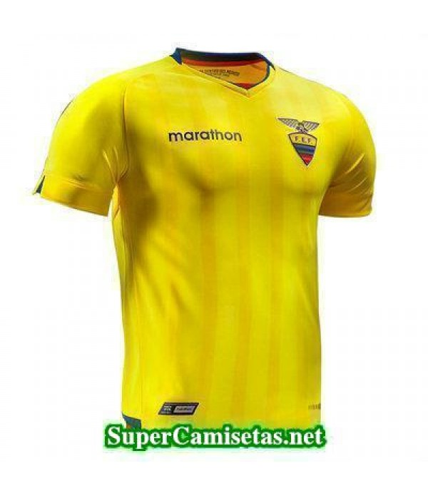 Primera Equipacion Camiseta Ecuador Copa del Mundo 2018