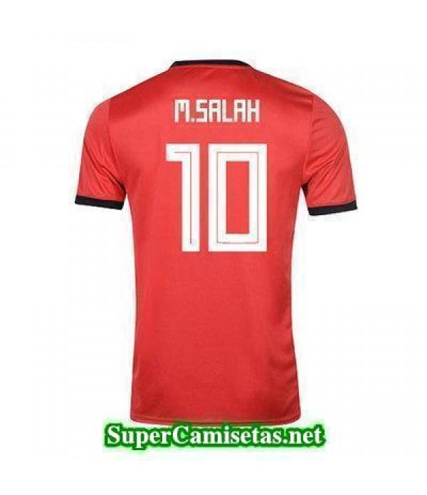 Primera Equipacion Camiseta Egipto M Salah Copa Mundial 2018