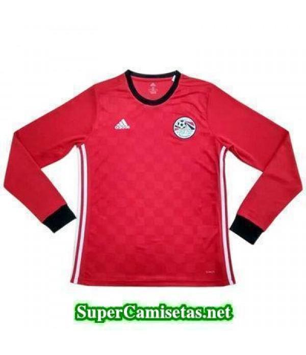 Primera Equipacion Camiseta Egipto ML Copa Mundial 2018