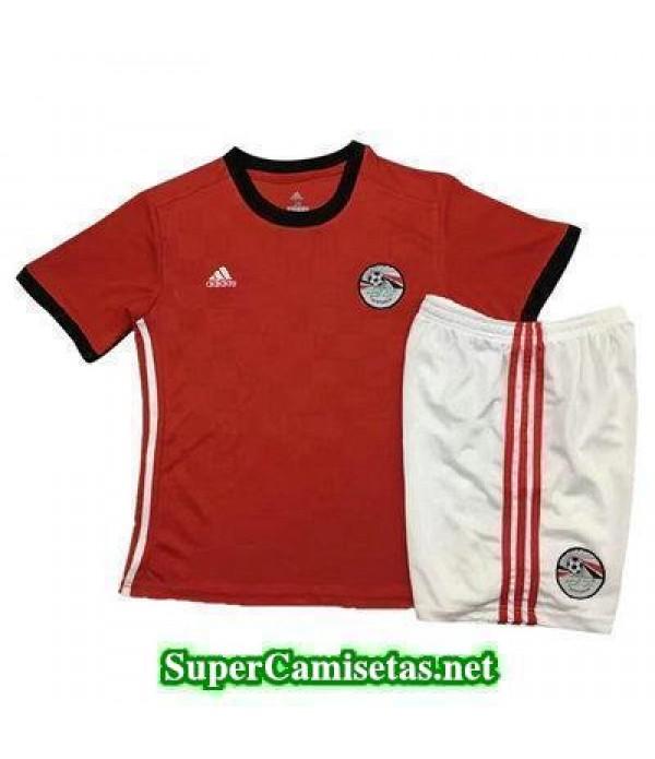 Primera Equipacion Camiseta Egipto Ninos Copa Mundial 2018
