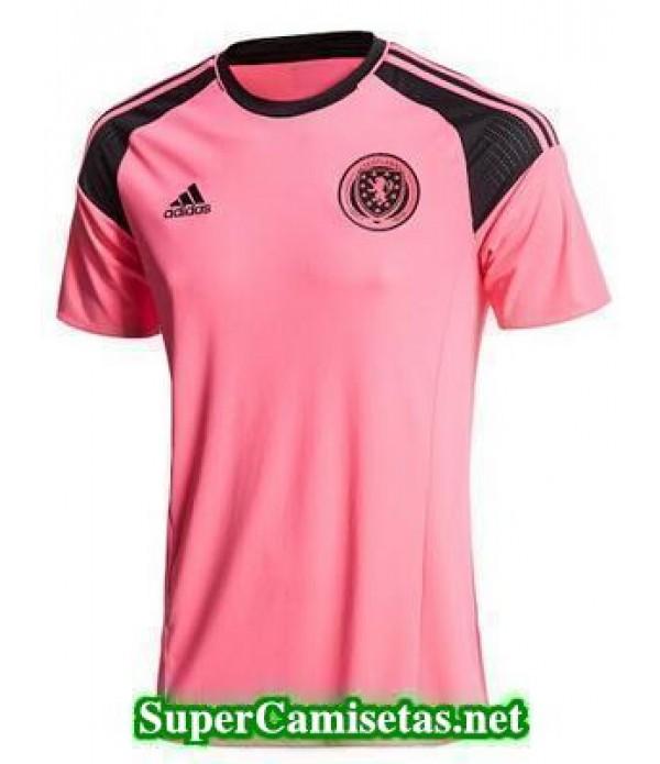 Segunda Equipacion Camiseta Escocia Eurocopa 2016