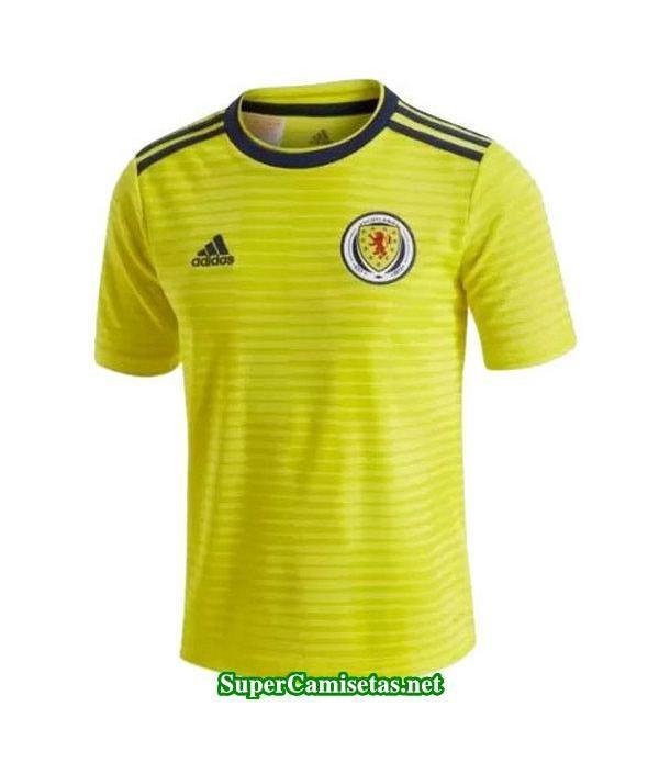 Segunda Equipacion Camiseta Escocia Mujer Copa Mundial 2019