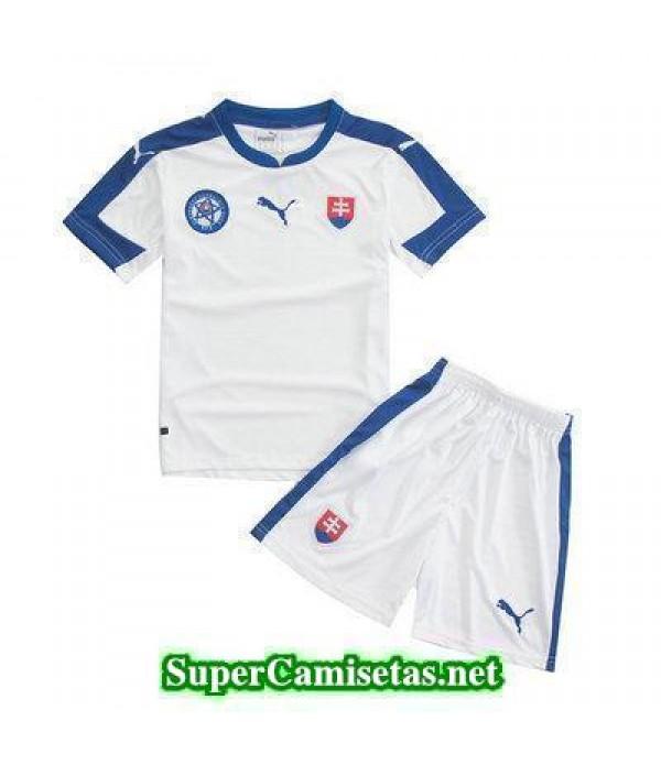 Primera Equipacion Camiseta Eslovaquia Ninos Eurocopa 2016