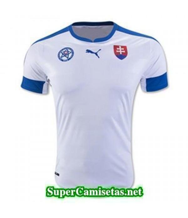 Tailandia Primera Equipacion Camiseta Eslovaquia Eurocopa 2016