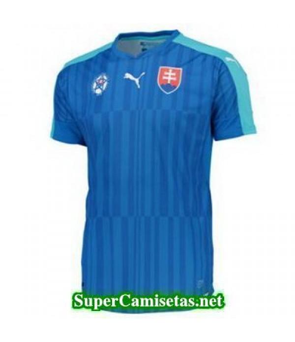 Tailandia Segunda Equipacion Camiseta Eslovaquia Eurocopa 2016