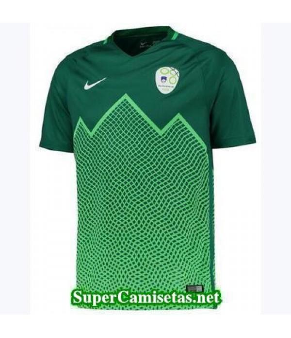 Segunda Equipacion Camiseta Eslovenia Eurocopa 2016