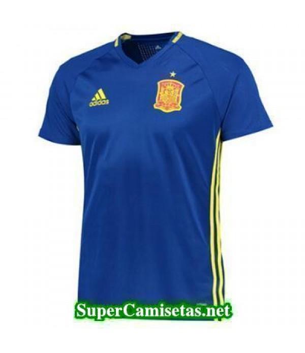 camiseta entrenamiento Espana Azul 2016 2017
