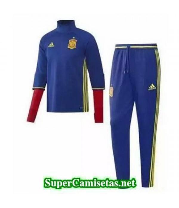 camiseta entrenamiento Espana ML Azul 2016