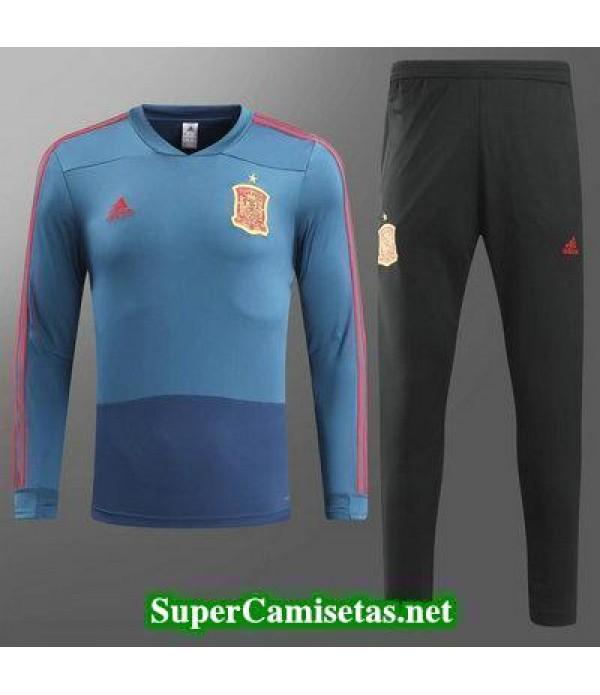 camiseta entrenamiento Espana ML Azul 2018 2019
