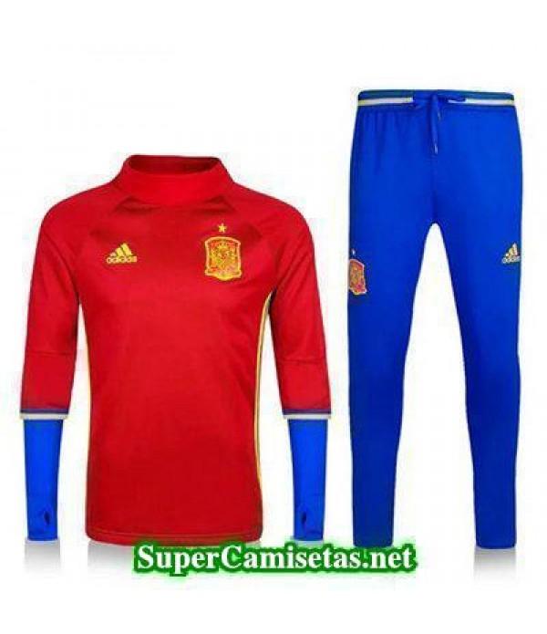 camiseta entrenamiento Espana ML rojo 2016