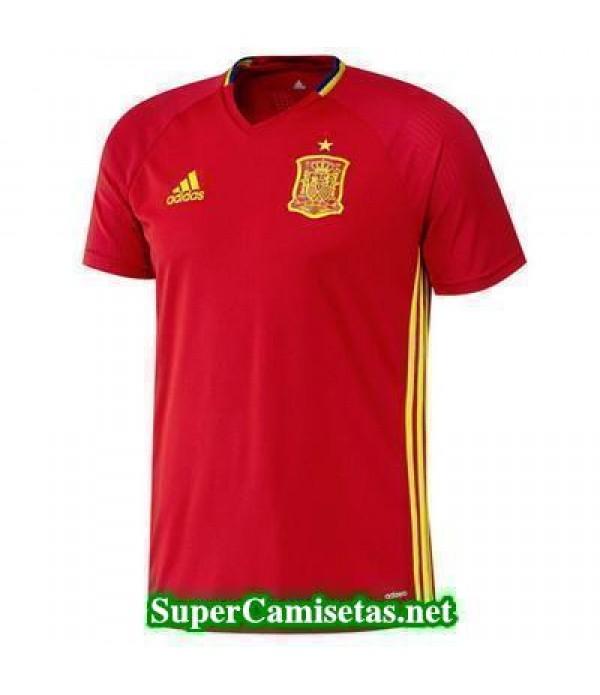 camiseta entrenamiento Espana Rojo 2016 2017
