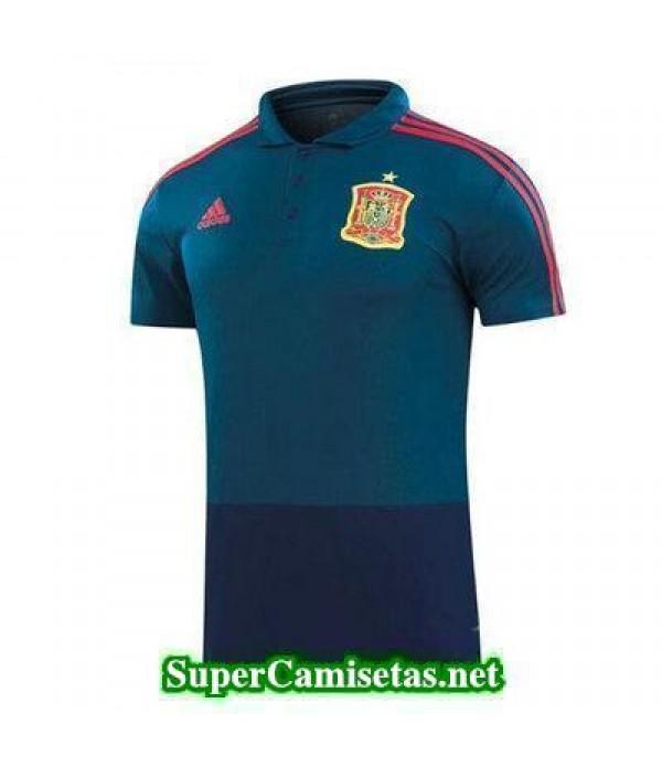 Camiseta polo Espana azul 2018 2019