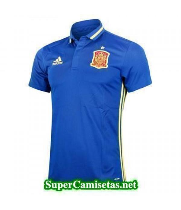 Camiseta polo Espana azul Eurocopa 2016