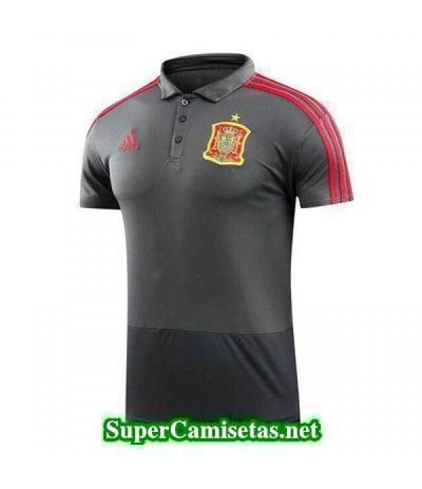 Camiseta polo Espana Gris 2018 2019