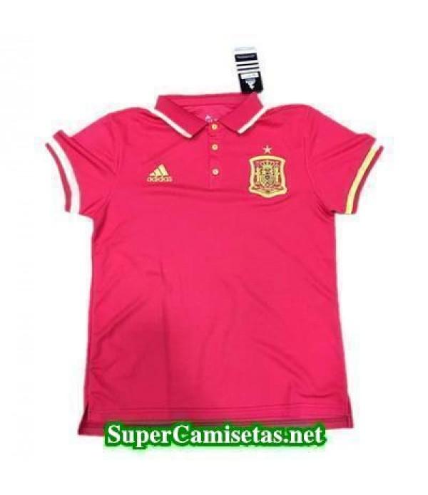 Camiseta polo Espana Rojo 2016 2017