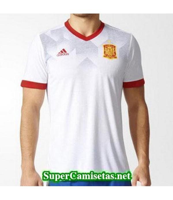camiseta pre-partido Espana Blanco 2016 2017