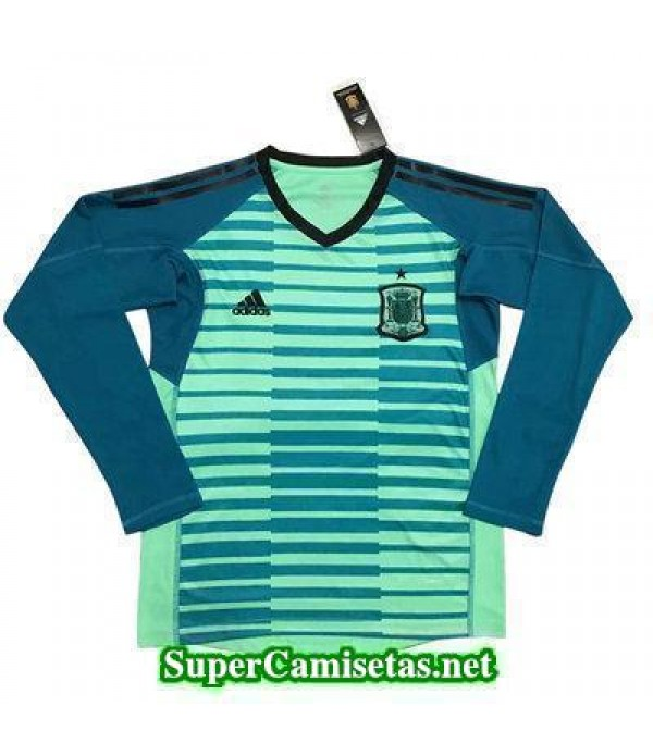 Portero Equipacion Camiseta Espana ML Copa Mundial...