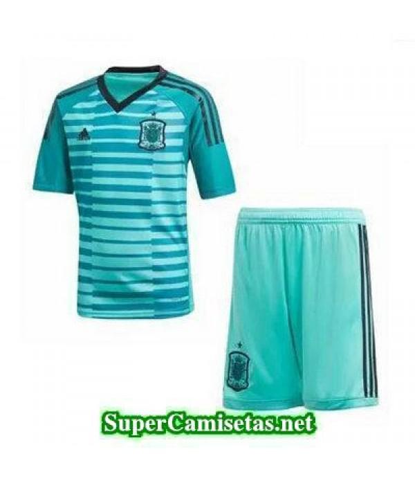 Portero Equipacion Camiseta Espana Ninos Copa Mund...