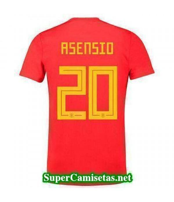 Primera Equipacion Camiseta Espana Asensio Copa Mu...
