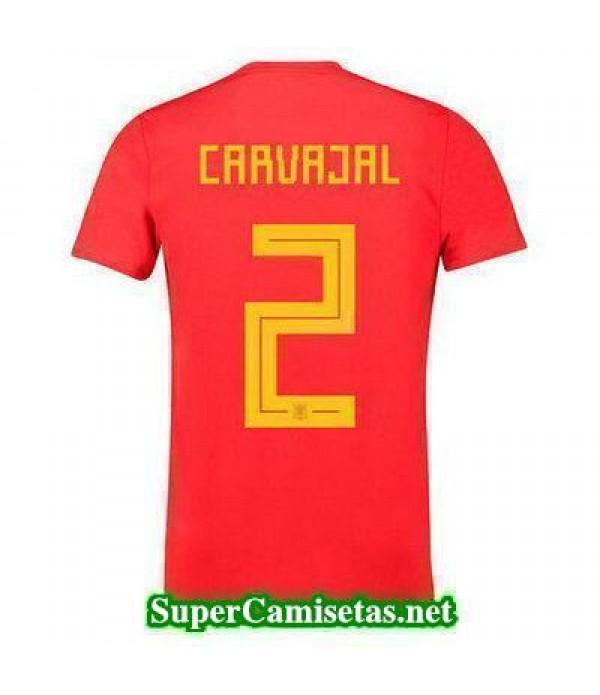 Primera Equipacion Camiseta Espana Carvajal Copa M...