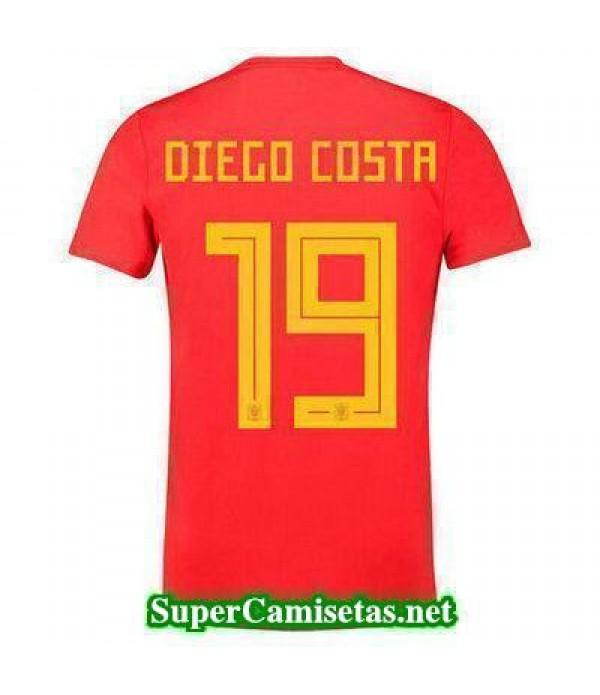Primera Equipacion Camiseta Espana Diego Costa Cop...