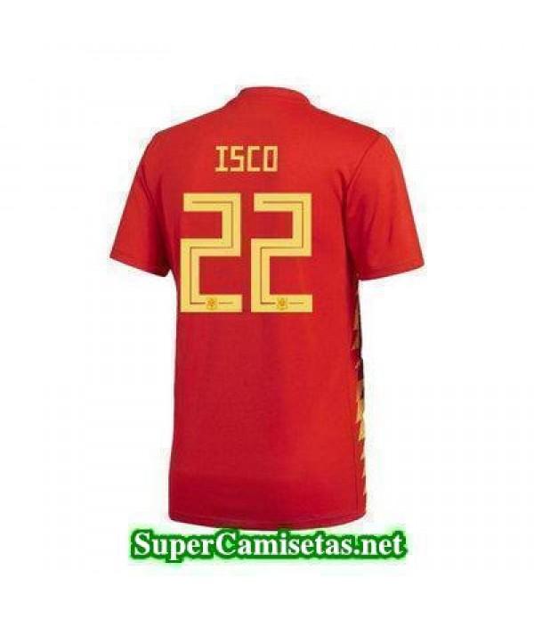 Primera Equipacion Camiseta Espana Isco Copa Mundi...