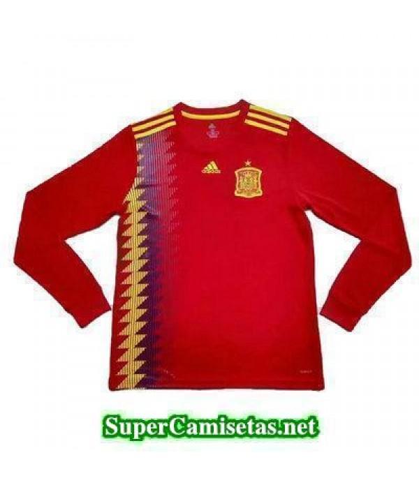 Primera Equipacion Camiseta Espana ML Copa Mundial...