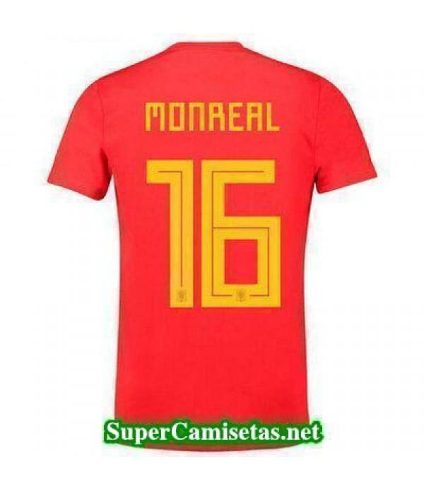 Primera Equipacion Camiseta Espana Monreal Mundial...