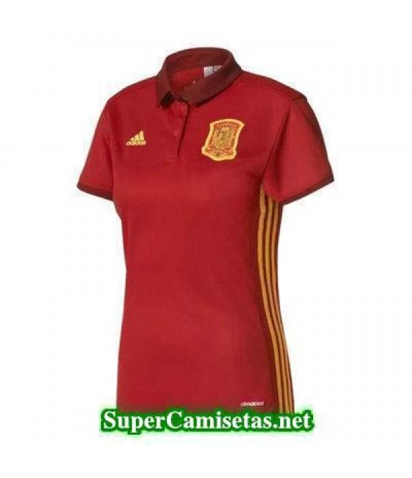 Primera Equipacion Camiseta Espana Mujer Eurocopa 2017