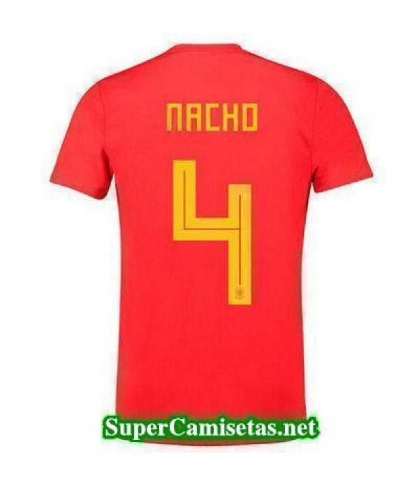Primera Equipacion Camiseta Espana Nacho Mundial 2...