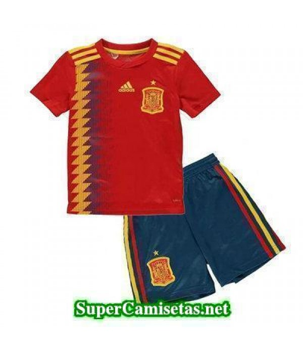 Primera Equipacion Camiseta Espana Ninos Copa Mund...