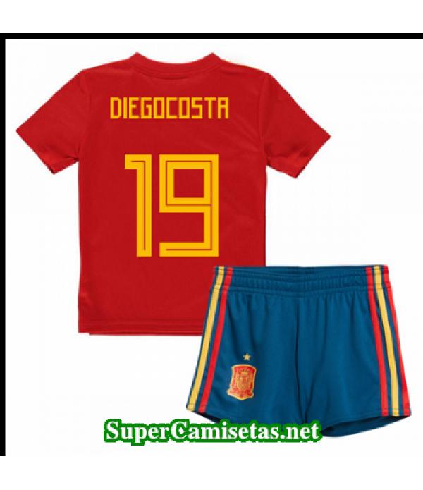 Primera Equipacion Camiseta Espana Ninos Diego cos...
