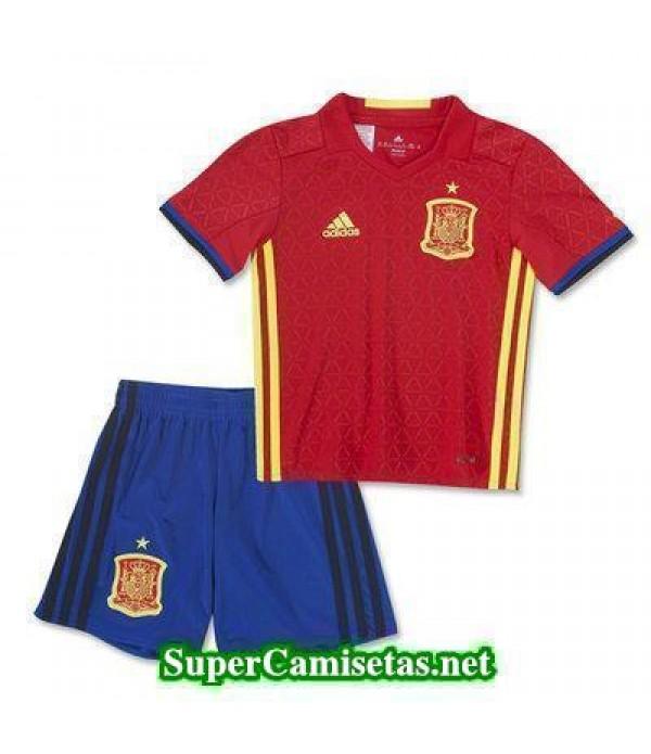 Primera Equipacion Camiseta Espana Ninos Eurocopa ...