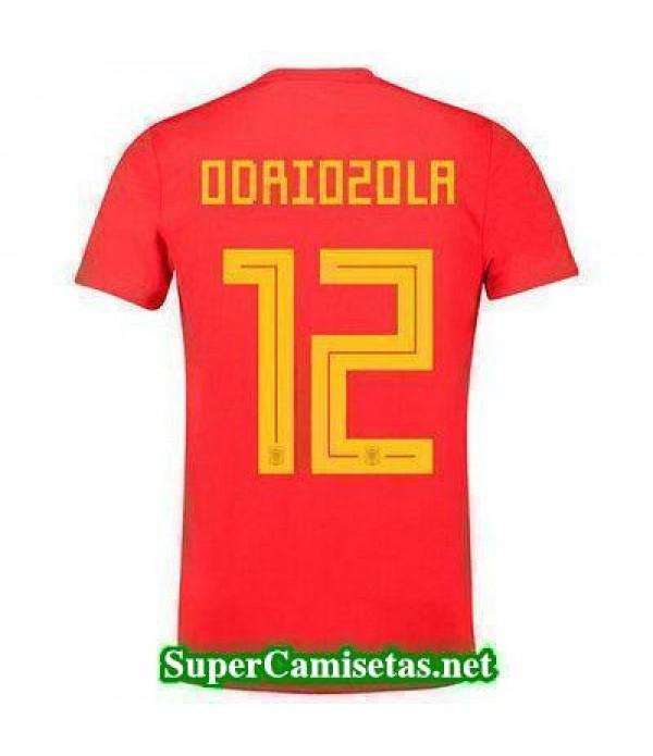 Primera Equipacion Camiseta Espana Odriozola Mundi...