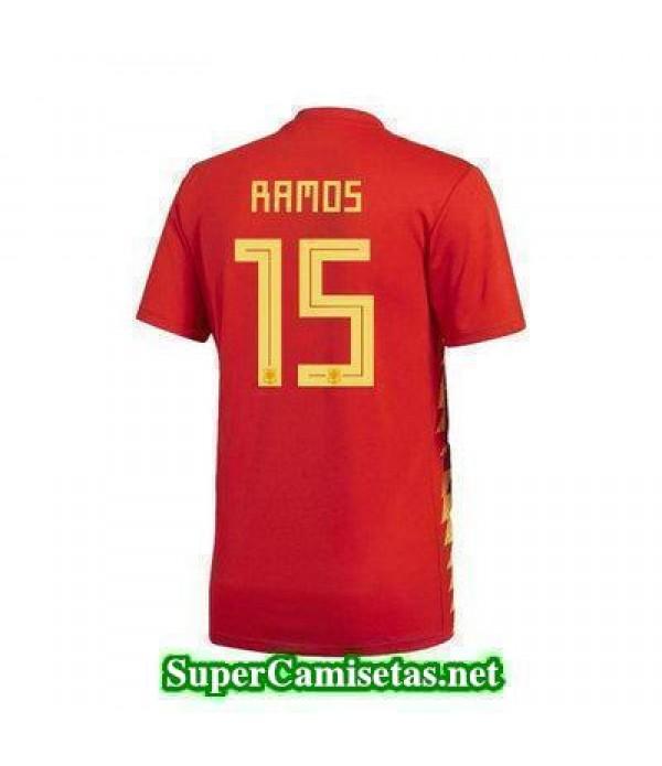 Primera Equipacion Camiseta Espana Ramos Mundial 2...