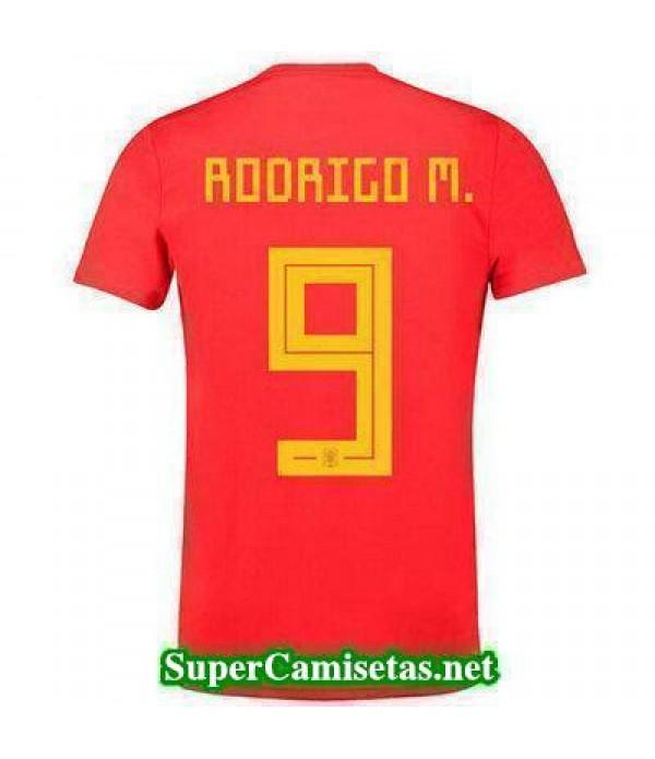 Primera Equipacion Camiseta Espana Rodrigo M Mundi...