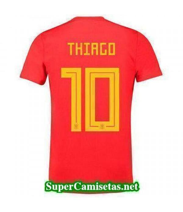 Primera Equipacion Camiseta Espana Thiago Mundial 2018