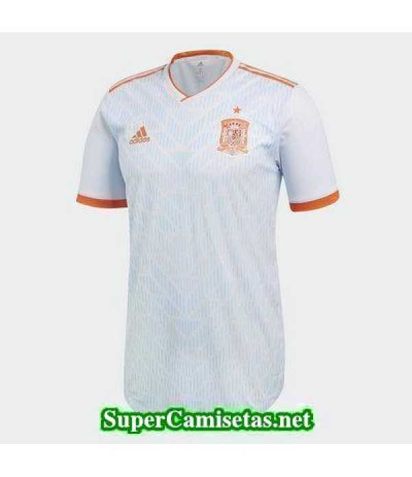 Segunda Equipacion Camiseta Espana Copa Mundial 20...