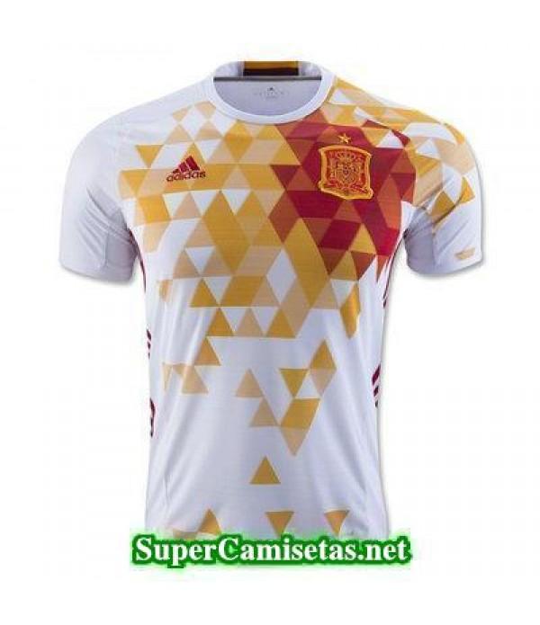 Segunda Equipacion Camiseta Espana Eurocopa 2016