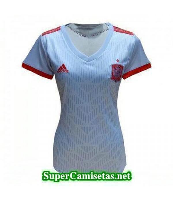 Segunda Equipacion Camiseta Espana Mujer Copa Mund...