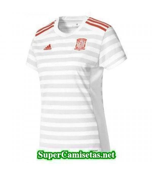 Segunda Equipacion Camiseta Espana Mujer Eurocopa 2017