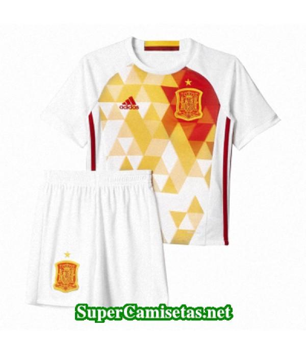 Segunda Equipacion Camiseta Espana Ninos Eurocopa ...