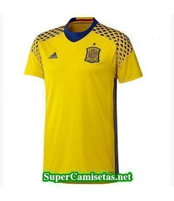 Segunda Portero Equipacion Camiseta Espana Eurocopa 2016