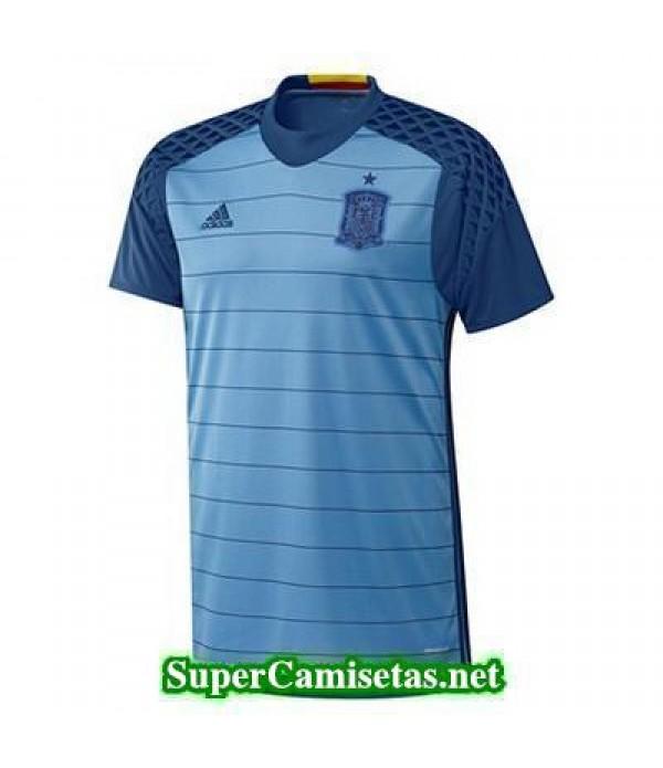 Tailandia Portero Equipacion Camiseta Espana Euroc...